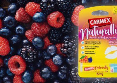 Carmex Naturally Berry